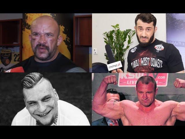 NAJLEPSZE TEKSTY ZAWODNIKÓW MMA! POPEK, RÓŻAL, STRACHU, KOKSU, PUDZIAN, MATERLA KHALIDOV!
