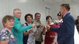 Клип свадьбы в г. Уяре 19 августа 2016г.