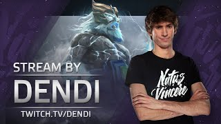 Dota 2 Stream: Na`Vi Dendi playing Zeus (Gameplay & Commentary)