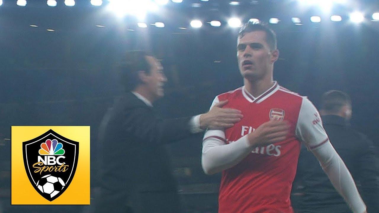 Arsenal 2-2 Crystal Palace: Granit Xhaka swears at Emirates fans to ...