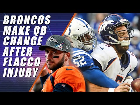Brandon Allen To Start After Flacco Injury: Broncos Vs Colts