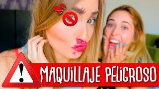 Maquillaje CON LOS OJOS TAPADOS ft. Katie Angel | Kika Nieto