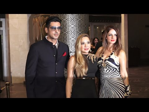 Hrithik Roshan's Ex-Wife Sussane Khan with Zayed Khan Attend Farhan Furniturewalla's Birthday Party
