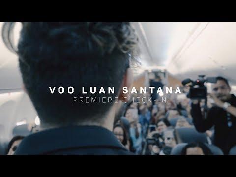 "Voo Luan Santana - Premiere Videoclipe ""Check-In"""