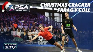 Squash: Farag v Coll - Full Match - British Open 2019 - Christmas Cracker