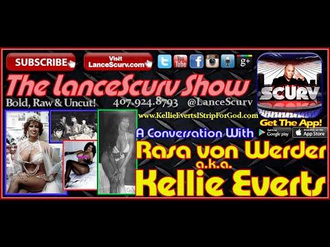 """Adult Entertainer Kellie Everts: """"I Strip For God!"""" - The LanceScurv Show"""