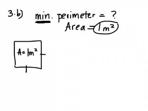Determining Optimum Area & Perimeter (Grade 9 Applied