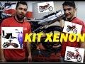 INSTALAÇÃO KIT XENON EM QUALQUER MOTO FAROL ALTO / BAIXO E XENON CG TITAN 125 150 SUZUKI HORNET XJ6