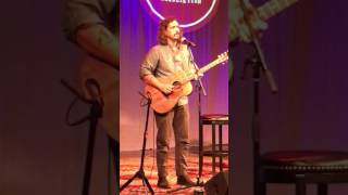 """John Paul White performs the """"song that changed my life,"""" Sam Stone @ Americana Fest 09/2016"""
