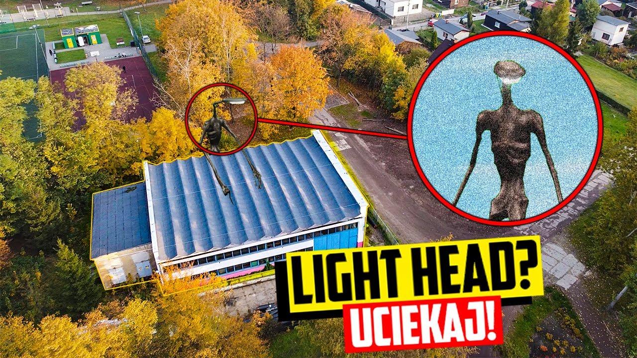 MÓJ DRON UCHWYCIŁ LIGHT HEAD PRZY NAWIEDZONEJ FABRYCE! (ZNALAZŁEM GO!)