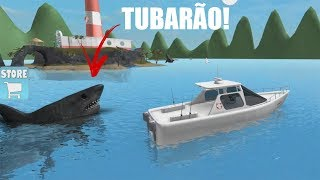 ROBLOX: ESCAPING FROM the SHARK at SEA! (SharkBite)