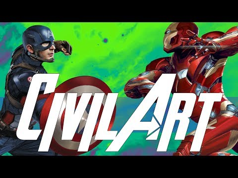 MCU Concept Art & Alternate Character Desings - Captain America Civil War