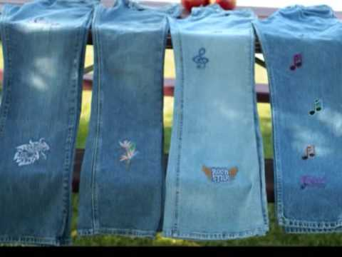 Embroidery jeans a must see youtube embroidery jeans a must see ccuart Gallery