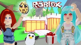 😍MI MOM PLAYS ROBLOX FOR THE FIRST TIME 😍ADOPT ME - ROBLOX