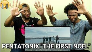 "Pentatonix - ""The First Noel"" (REACTION)"