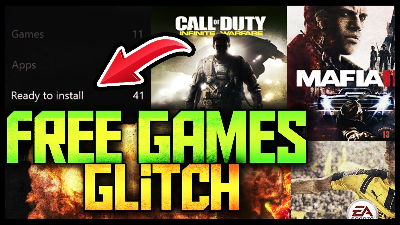 How to Get ANY XBOX ONE & 360 Games Free GLITCH!!?::