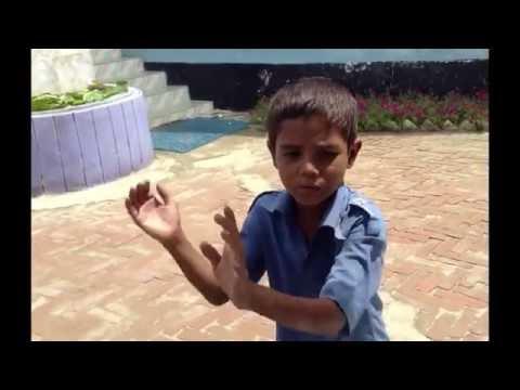 Funny Break Dance Bangladeshi little boy with Hindi song