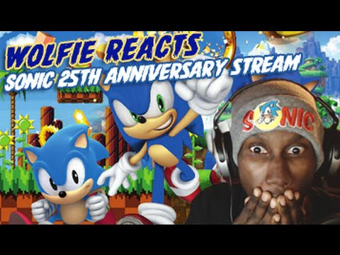 Wolfie Reacts: Sonic 25th Anniversary Stream in a nutshell - Werewoof Reactions