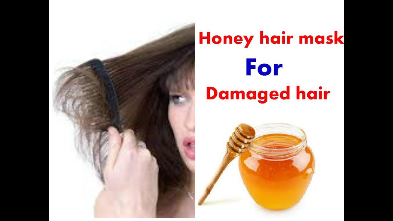 Diy Homemade Honey Hair Mask For Damaged
