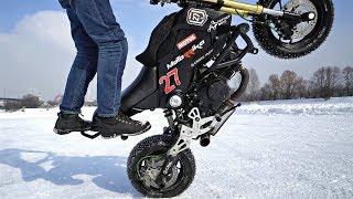 Honda GROM Winter Stunts