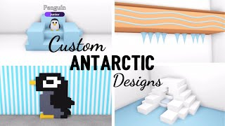 4 Custom ANTARCTIC Design Ideas & Building Hacks for Penguins (Roblox Adopt me) | Its SugarCoffee