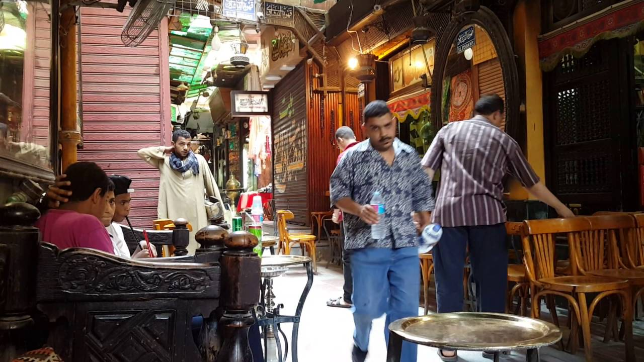 Oldest coffee shop in cairo egypt 1 youtube for Shopping in cairo