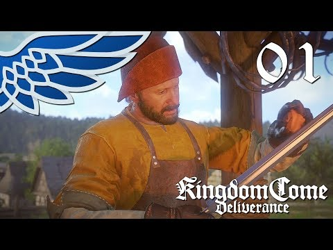 KINGDOM COME DELIVERANCE | MEDIEVAL REALISTIC RPG PART 1 - Let's Play Gameplay