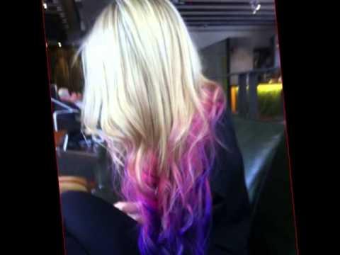 Awesome Hair Color Ideas - Creative Hair Highlights - YouTube