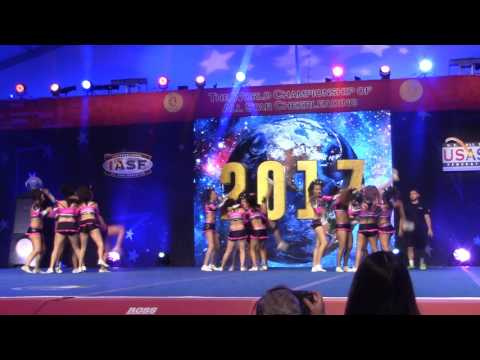 COLOMBIAN ALL STARS - THE CHEERLEADING WORLDS 2017 - MASTERS COLOMBIA