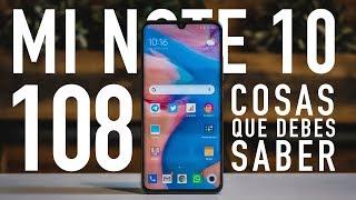 Xiaomi Mi Note 10: 108 COSAS que TIENES QUE SABER