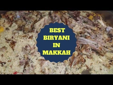 Umrah Part 28 | Best Biryani In Makkah | Halal Food Tour | Sara Travels