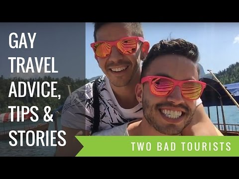 Channel Trailer: Two Bad Tourists | Gay Travel Advice, Tips & Stories