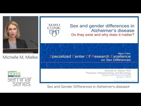Sex and Gender Differences in Alzheimer's Disease: Do they exist and why does it matter?