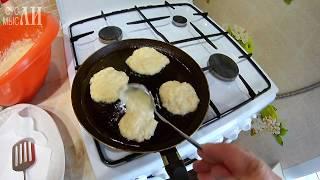 Оладьи из кабачков/ Простые рецепты