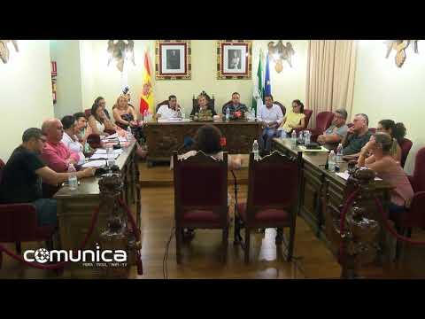 Intervención de Meli Carbajo en Pleno de Aguilar de la Frontera