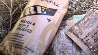 Mre Menu 4: Maple Sausage