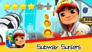 Subway Surfers - Kiloo - Houston Day7 Walkthrough Space Agency Recommend index four stars