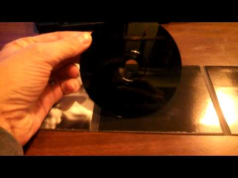 Marilyn Manson's Pale Emperor CD is black on both sides