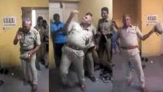 Tamil Nadu cop suspended for dancing during duty hours || Video goes Viral || 2016