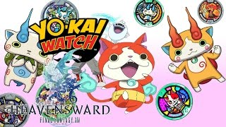 Showcasing the Yo-Kai Watch event items! - Final fantasy 14