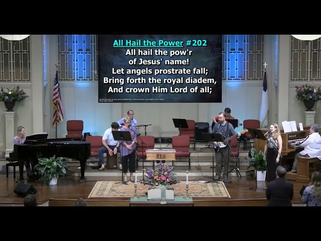 August 30, 2020 Service [Trimmed] at First Baptist Thomson, Streaming License 201531172