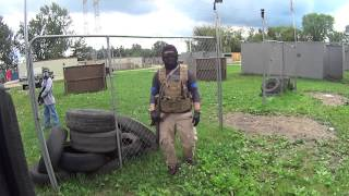 Behind Enemy Lines.(Cheater caught in act)@Black Ops Airsoft