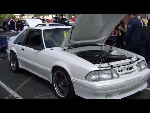 1990 Mustang Fox Body with a Coyote Swap Interview with Owner Jeremy @  Fabulous Fords Forever 2014
