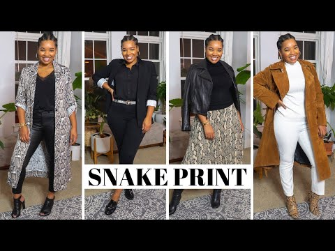 How To Style Snake Skin thumbnail