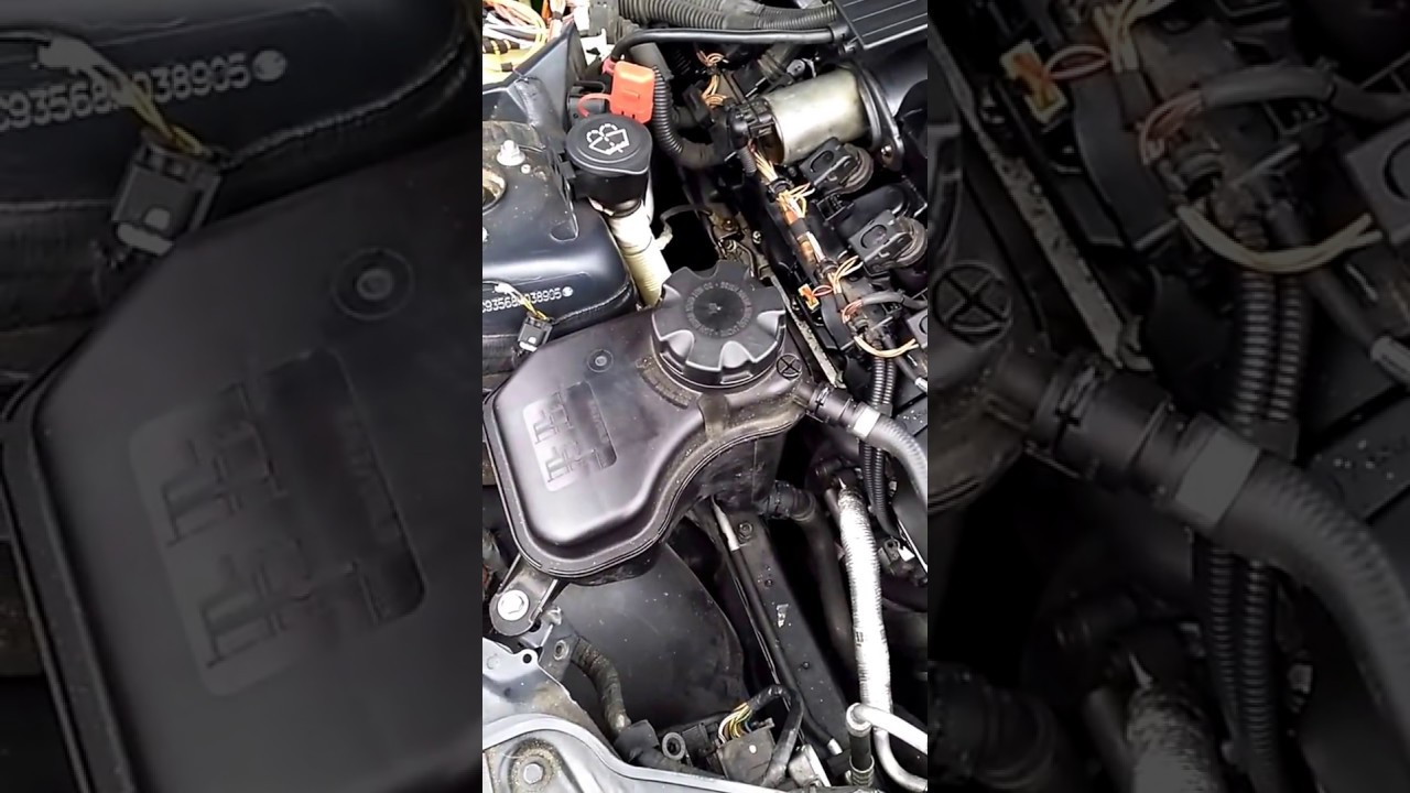 Perfect 2008 E90 White Smoke Coming From Engine Bay