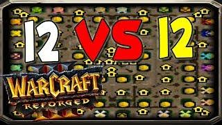 Warcraft Reforged 12 vs 12 Market Squares