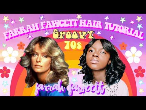 how-to-get-farrah-fawcett-hair,-farrah-fawcett-70s-curly-hair-tutorial-|-iyannah-pierre
