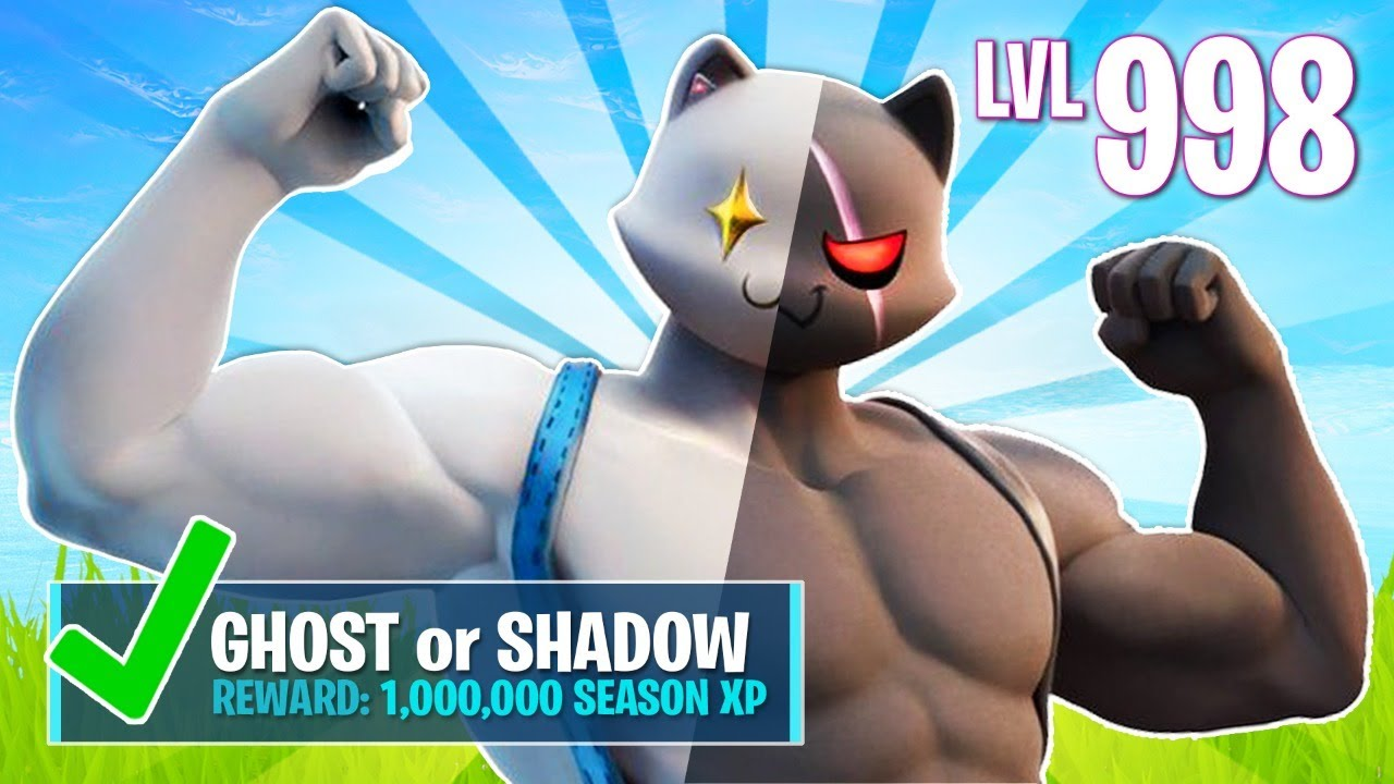 New Ghost Shadow Meowscles Challenges Fortnite Battle Royale Youtube