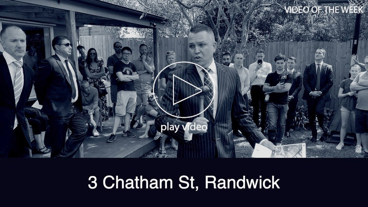Randwick house sells at red hot auction in Sydney
