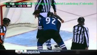 Top Ten NHL Hockey Fights of December 2014